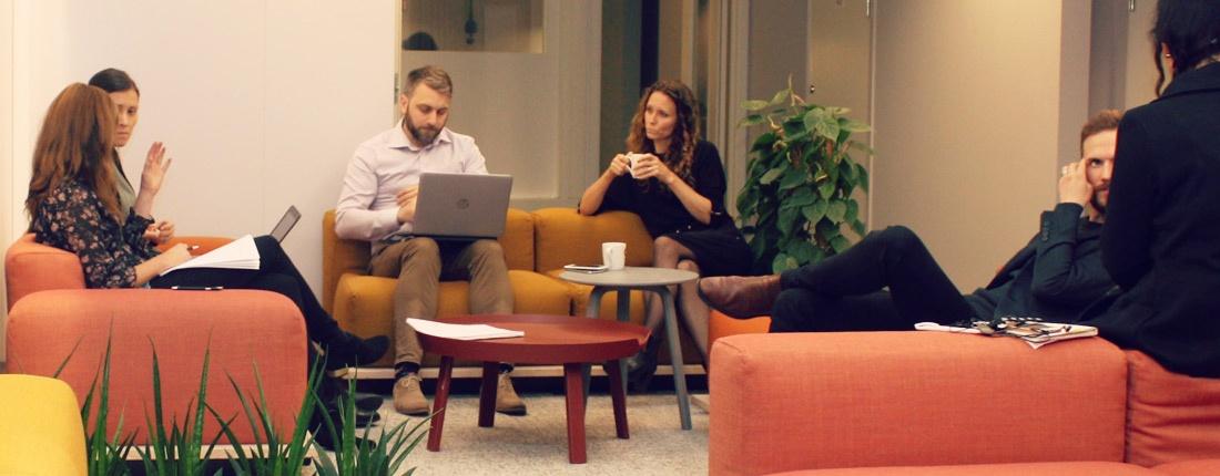 Miljö som uppmuntrar spontana möten